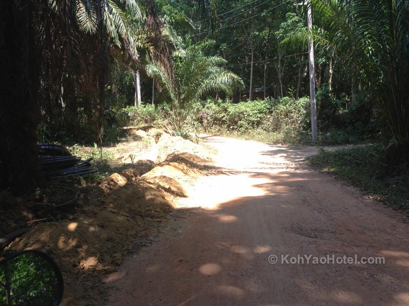 road to the paradise koh yao resort koh yao noi