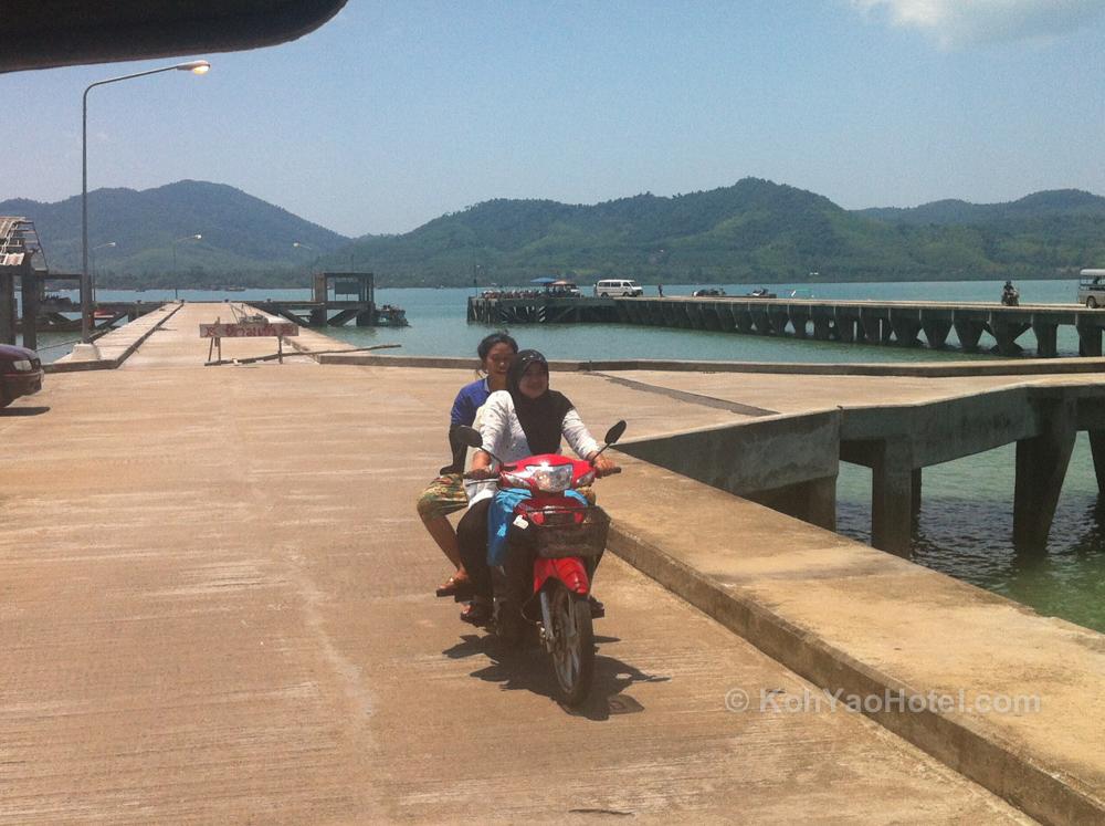 Manoh Pier, Koh Yao Noi