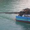 longtail boat engine tha khao pier koh yao noi