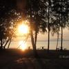 sunrise over pasai beach koh yao noi