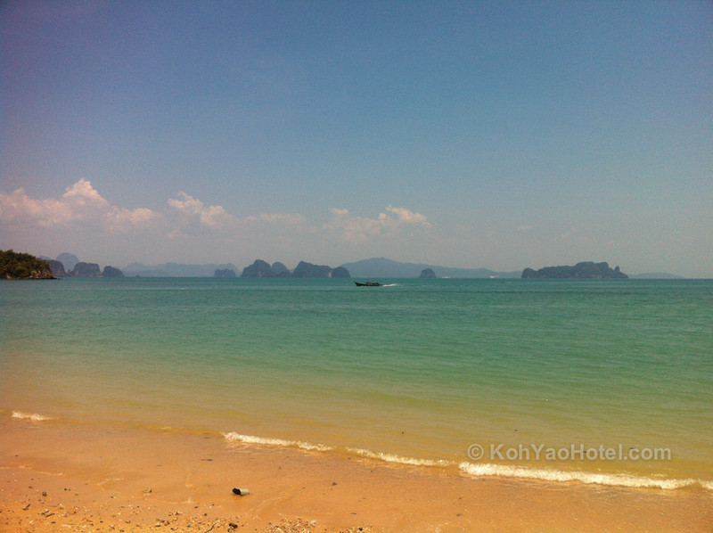 View from Pasai Beach, Koh Yao Noi