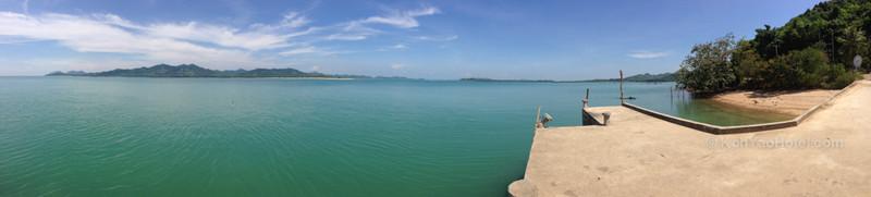 view of koh yao yai island taken from lam sai pier koh yao noi