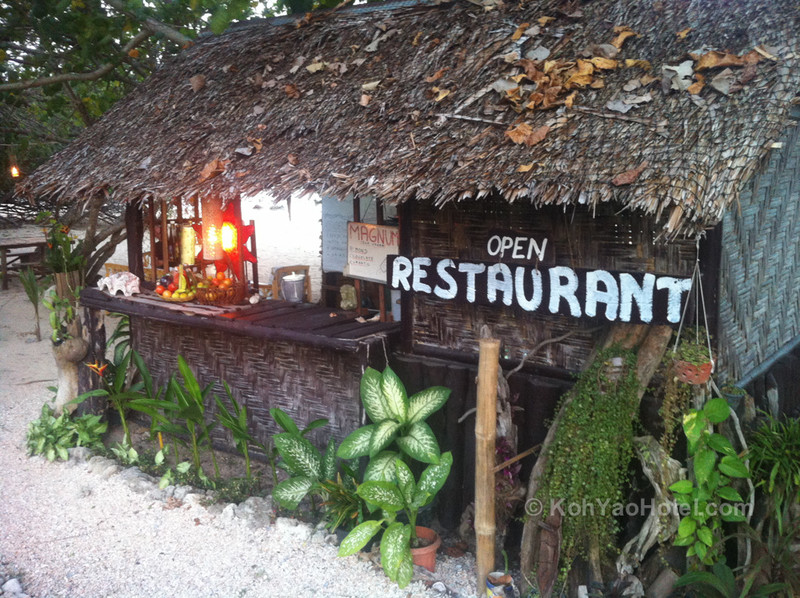 Beach Bar, Pasai Beach, Koh Yao Noi