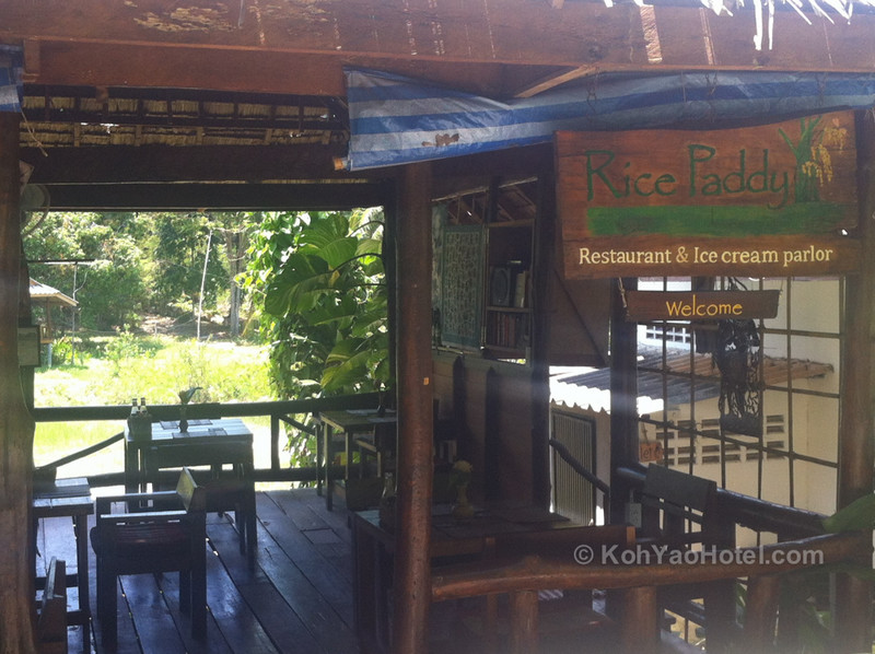 Rice Paddy restaurant, Pasai Beach, Koh Yao Noi