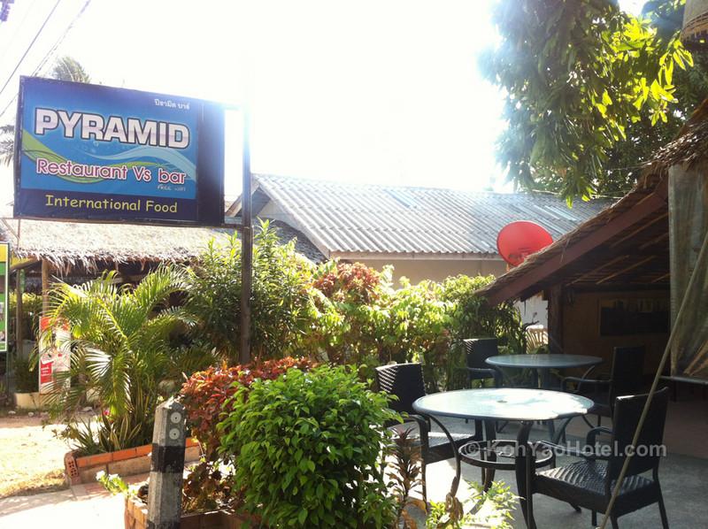 Pyramid Restaurant, Klong Jark Beach, Koh Yao Noi
