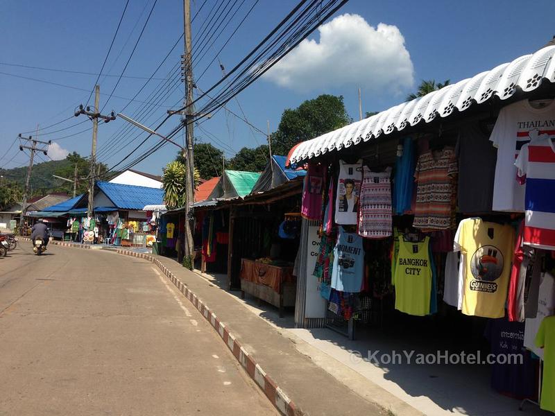 Koh Yao Noi village main street