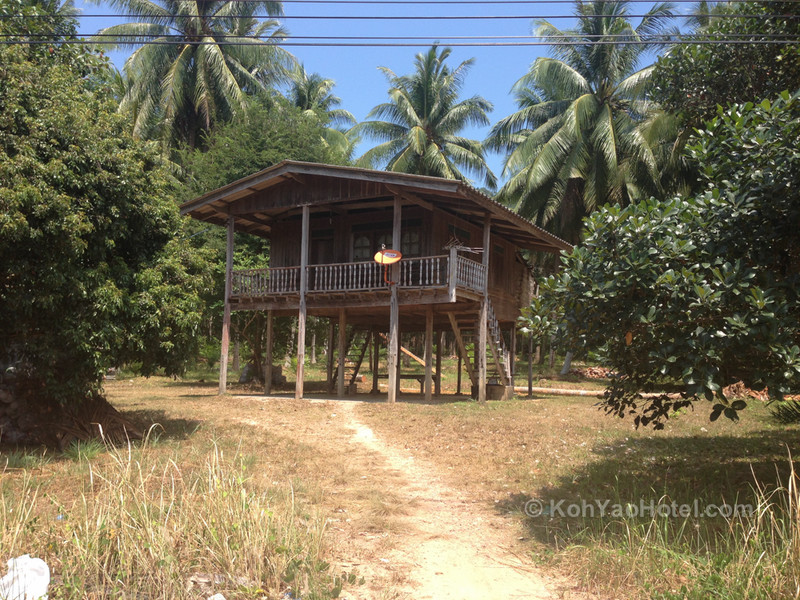 thai style homes on koh yao yai