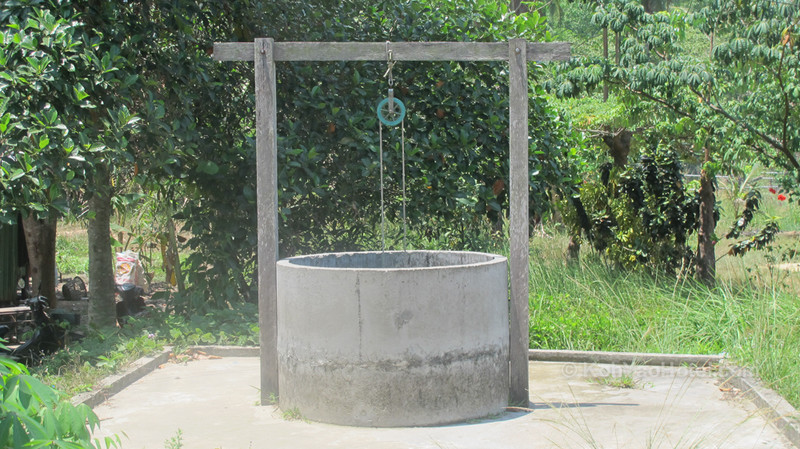 local people use wells for water koh yao yai