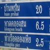 sign post on koh yao yai