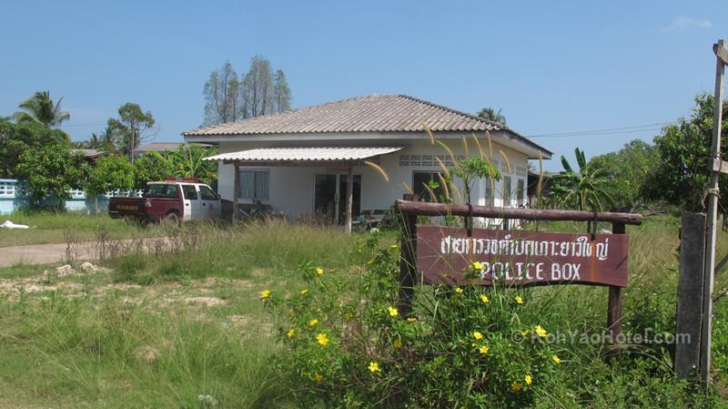 police station chong lad village koh yao yai