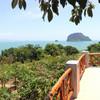 panoramic  ocean view from esmeralda restaurant koh yao yai