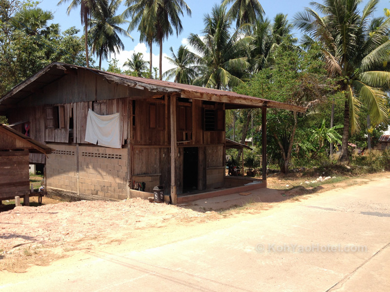 thai style homes on koh yao yai