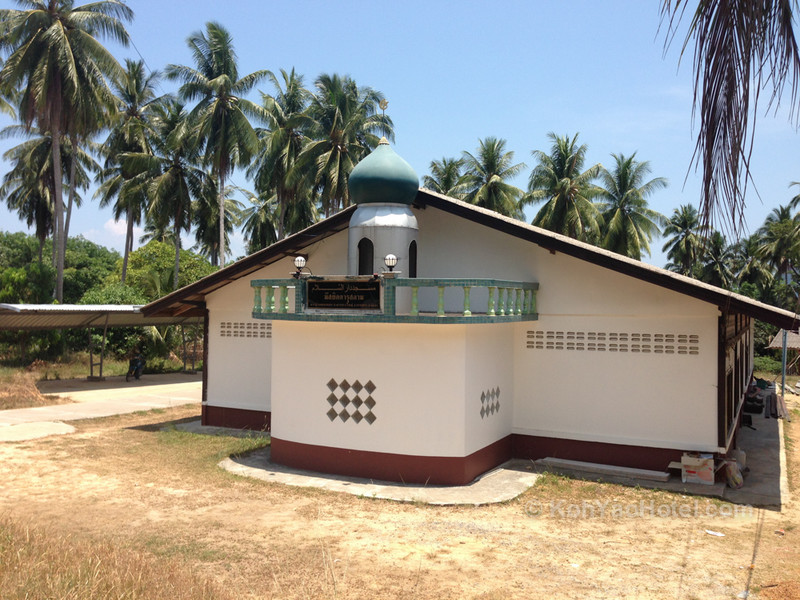 mosque on Koh Yao Yai
