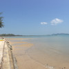 beach and ocean view in front of Thiw Son Beach Resort Koh Yao Yai
