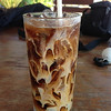 iced coffee in thiw son beach resort koh yao yai