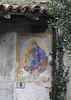 You can see Holy Mary images everywhere in Italy