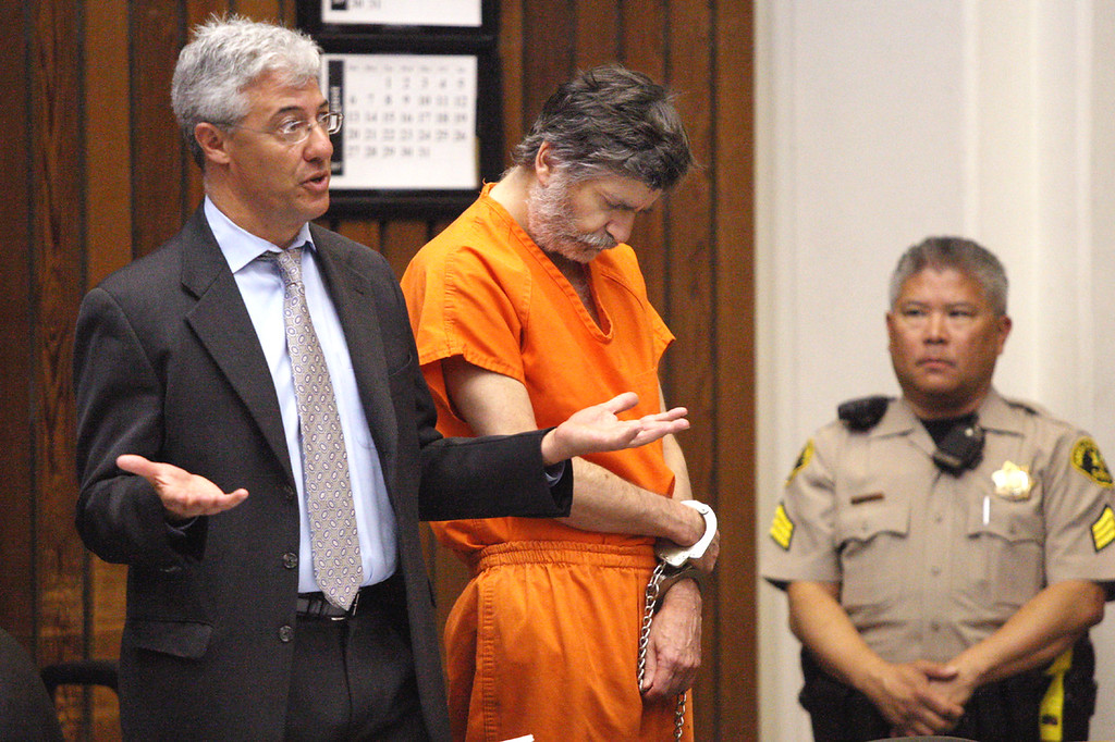 . Jay Rorty, attorney for accused child molesting neurosurgeon James Kohut, argues for a $1 million bail for his client Wendesday.  (Dan  Coyro -- Santa Cruz Sentinel)