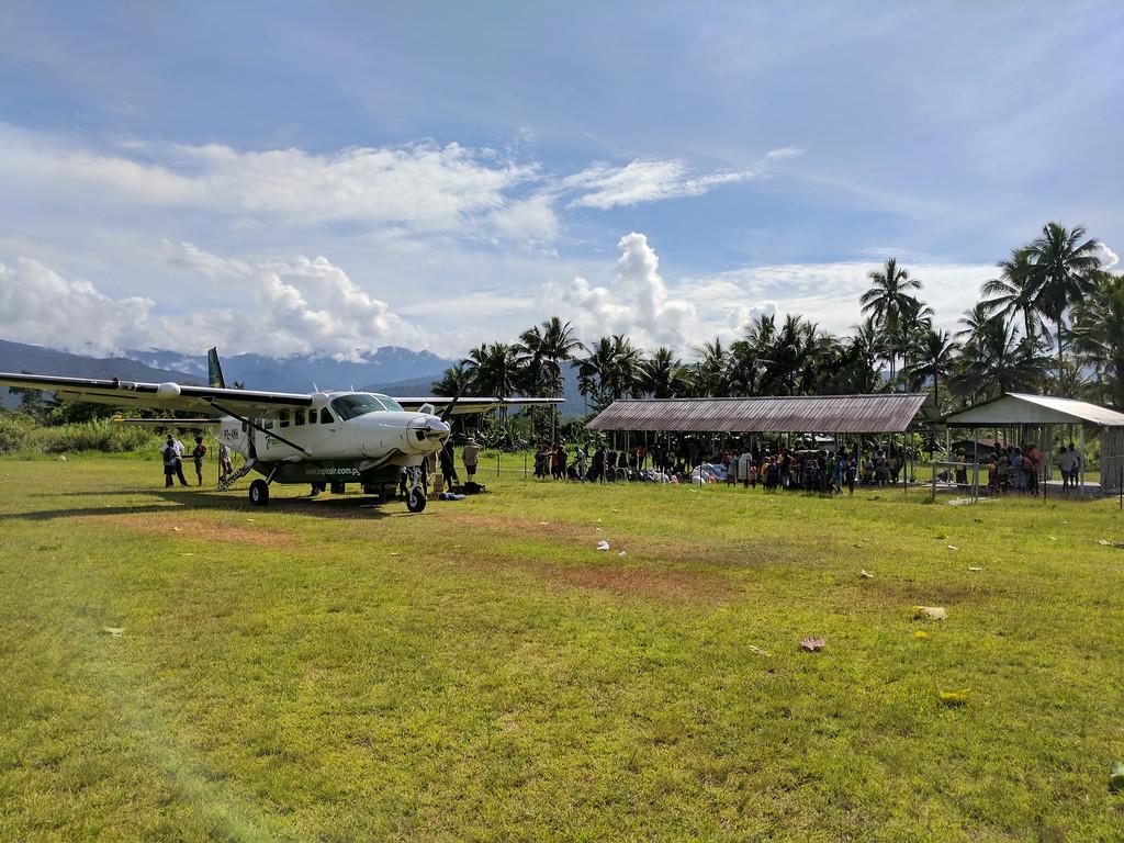 Kokoda airstrip and terminal building!
