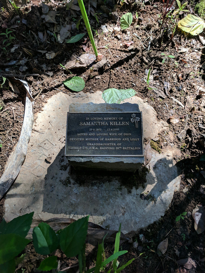 Another little memorial.