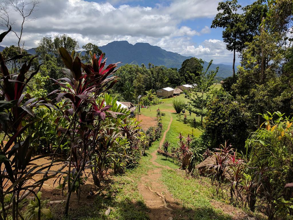 The end of today's walk at Ioribaiwa