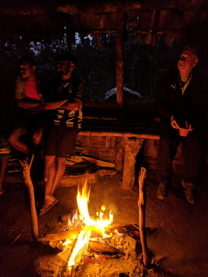 Yarns round the camp fire!