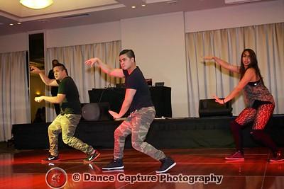 Hip hop trio
