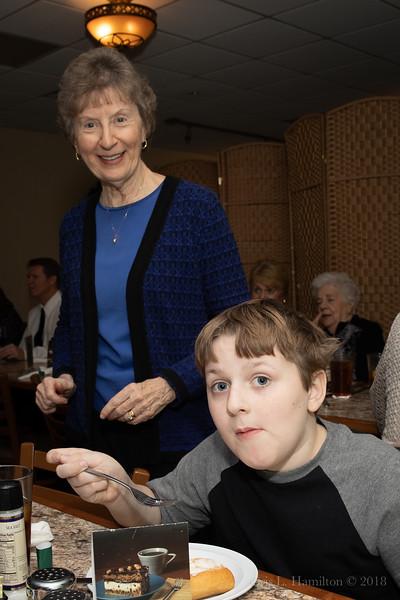 Nancy & grandson Ryan