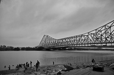 Howrah bridge,  6:30am