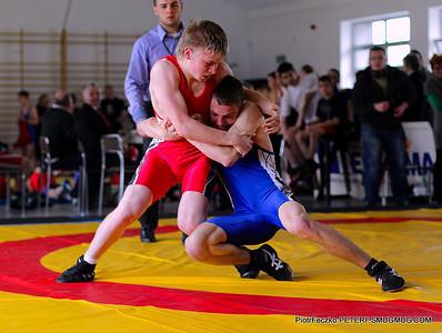Rusek GrecoRoman Wrestling Championships april 2014 Myslenice