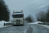 E6, indre Troms, tungtrafikk på veien