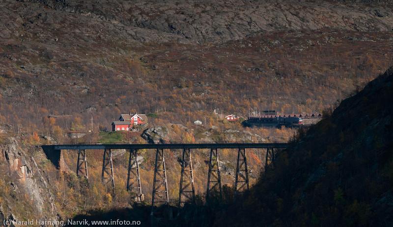 Ofotbanen med Norddalsbrua