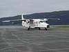Dornier fra Kato Air på Narvik Lufthavn, Framneslia. Kato Air opererte på sambandet Narvik - Bodø noen få år.