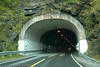 Efjord-tunnellen på E6 i Ballangen, sør for Narvik. Nordre inngang.