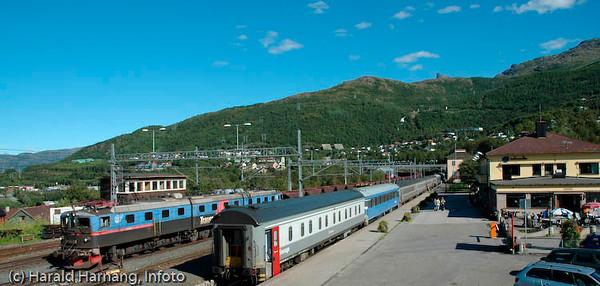 Narvik Jernbanestasjon.  August 2007.