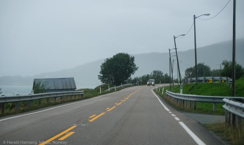Trafikk, Håkvik, gåke.
