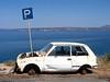 Parkert for godt: Foto fra Kreta.