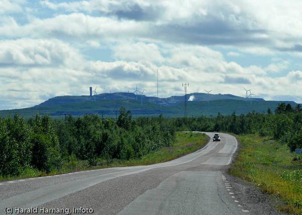 Mellomriksvei Narvik - Kiruna, E10