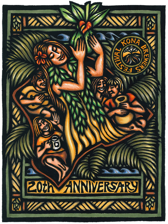 The Kona Brewers Festival, 20th Anniversary event.