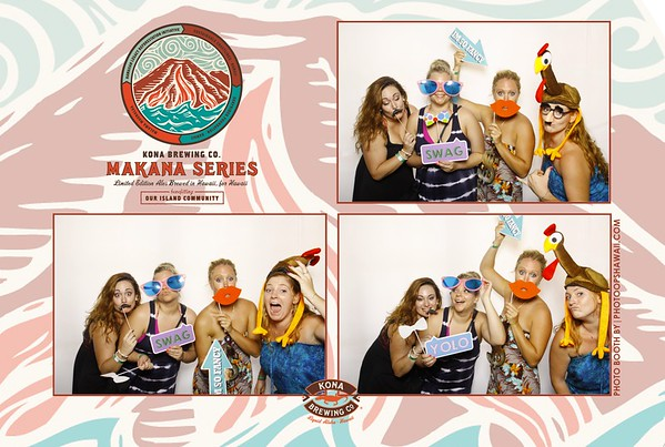 Kona Brewing Co. April (Fusion Photo Booth)