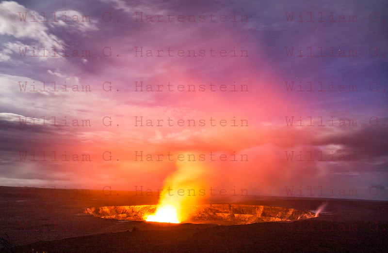 Kilauea Volcano Halemaumau Crater 12-0-1-17