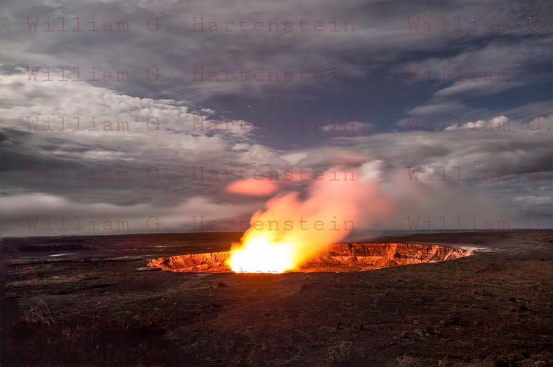 Kilauea Volcano Halemaumau Crater 12-01-17