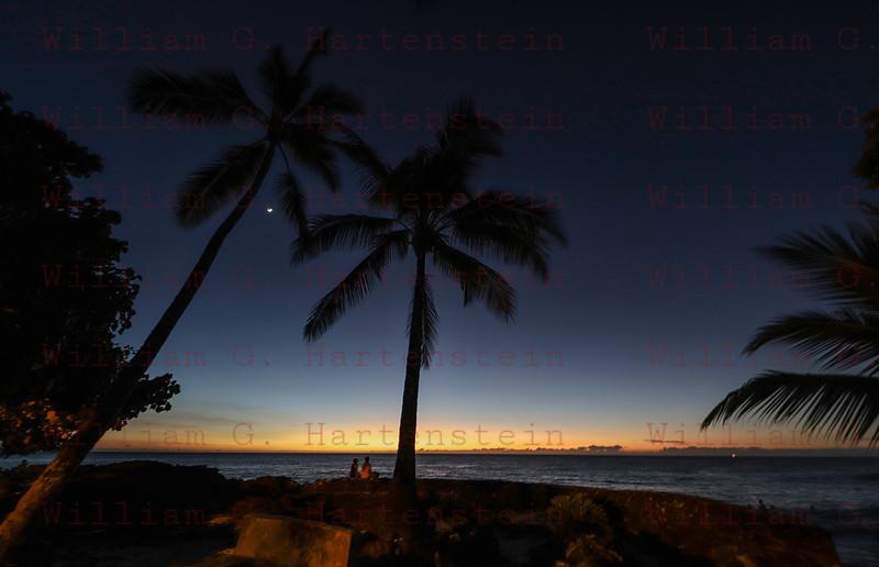 Kona Sunset- White Sands Village, Kona, HI. 11-22-2017