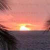 Sunset over White Sands Beach Kona, HI. 11-24-2017