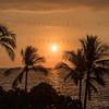 Sunset White Sands Beach Kona, HI. 11-24-2017