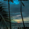 Sunset White Sands Beach Kona, HI. 11-24-2017