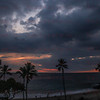 Sunset White Sands Beach Kona, HI 11-25-17