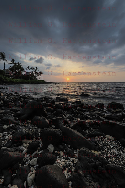Sunset Kona Coast Kona, HI 11-26-17