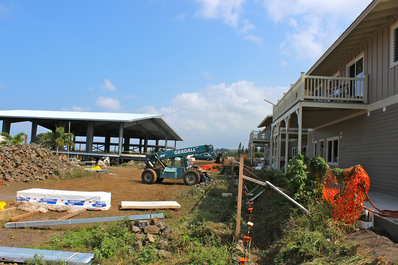 Continuing construction in new dorms