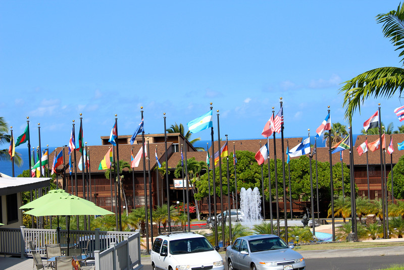 Plaza of the Flags