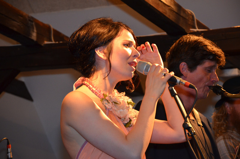 Kira Skov i Holbæk Jazzklub 4. marts 2012